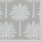 Cocktail Napkins Caspari Grand Palms Grey