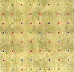 Sheet Wrap Coloured Squares Gold