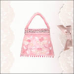 Blank Card Female Fashion Pink Bag