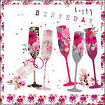 Stephanie Rose Floral Glasses