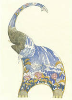 DM Collection Elephant Water