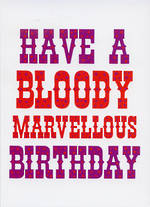 Dean Morris Rude Bloody Marvellous Birthday