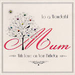 Mum Birthday Card Belle De Noir Wonderful