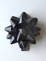 Bow Poly Black 15mm