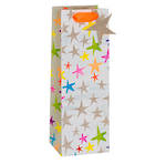 Bottle Gift Bag Paper Salad Stars