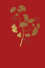 Icones Gingko Leaves Red
