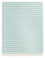 Shimmer Accents Aqua A6 Notebook