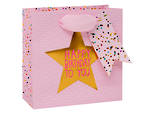Small Gift Bag Paper Salad Star Female