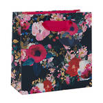 Small Gift Bag Dyment Blue Floral