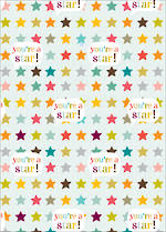 Sheet Wrap Think Of Me You're A Star