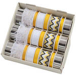Ribbon Display24 Yellow/Black Spool