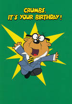 Danger Mouse Crumbs Your Birthday