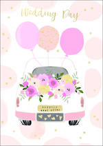 Wedding Card Bubbly Happily Ever After