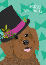 Woof Woof Birthday Top Hat