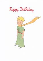 Little Prince Happy Birthday Scarf