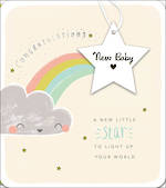 Baby Card New Baby Star