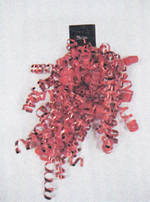 Ribbon Budget Value Curl Cascade Red