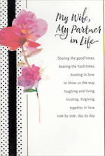 Anniversary Card Wife Hallmark Large