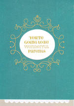 Baby Card New Parents Wonderful