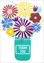 Jumbo Card Hallmark Colossal Thank You Flowers