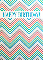 Jumbo Card Hallmark Colossal Birthday Zigzag