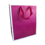Large Gift Bag Hallmark Solid Raspberry