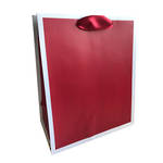 Large Gift Bag Hallmark Solid Red