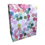 Large Gift Bag Dots