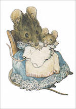 Mini Card Beatrix Potter Minis Hunca Munca