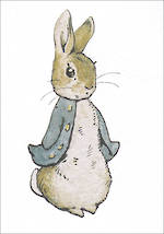 Mini Card Beatrix Potter Minis Peter Rabbit