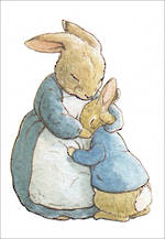Mini Card Beatrix Potter Minis Hug
