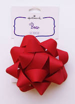 Bow Fabric Red
