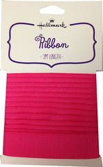 Ribbon Fabric Hot Pink 2m