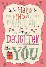 Daughter Birthday Card Hallmark Perfect Gift