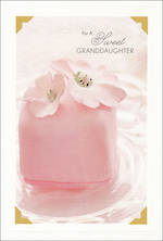 Grandaughter Birthday Card Hallmark Pink Cake