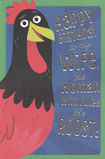 Wife Birthday Card Hallmark Humour Roost