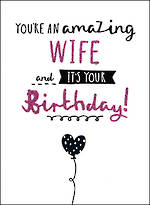 Wife Birthday Card Hallmark Amazing