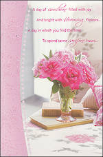 Birthday Card Female Hallmark Blooming Flowers
