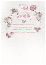 Birthday Card Female Hallmark Special Friend Dylan