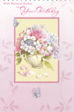 Birthday Card Female Hallmark Bouquet