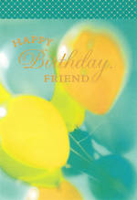 Hallmark Female Birthday Card Friend Balloons