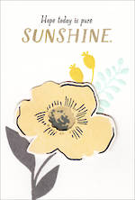 Hallmark Female Birthday Card Sunshine