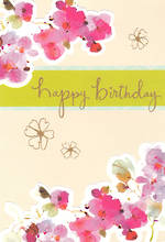 Birthday Card Female Hallmark Blossom