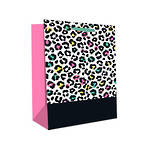 Large Gift Bag Lovely Leopard Spots