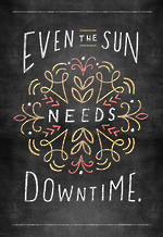 Get Well Card Hallmark Sun Needs Downtime