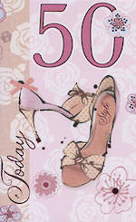 Hallmark Value Age 50 Female Shoes