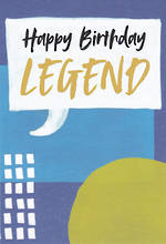 Happy By Hallmark Birthday Legend