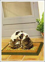 Simply Sweet Animals Doormat