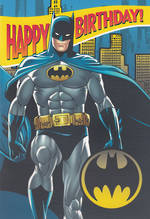 Hallmark Interactive Birthday Card Boy Batman
