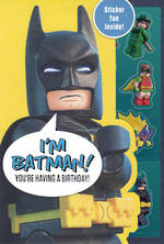 Kids' Birthday Card Boy Lego Batman